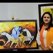 life and nature based exhibition in punjab kala bhawan chandigarh