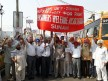 Pensioners demand, display, perform against the government, Sunam, Sangrur