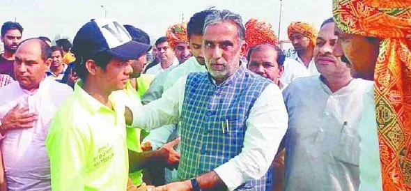 central minister krishnapal gurjar election ticket