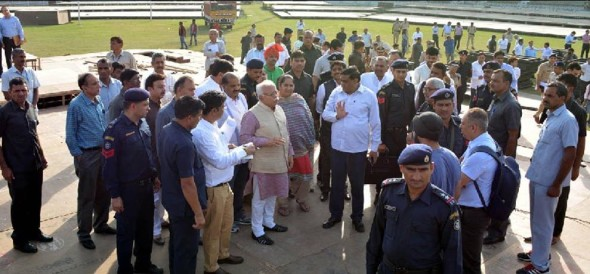 pm modi rally in gurgaon ans its security concerns by spg