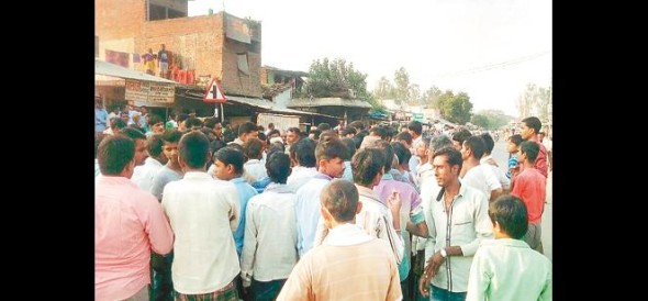 13 injured in road accidents, Hungama