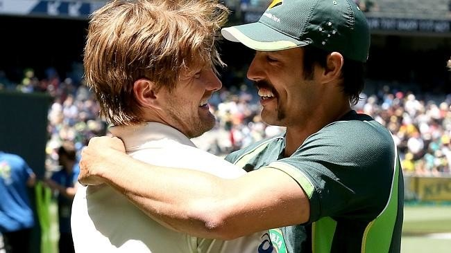 Shane Watson Stuck My Head In Toilet In Adelaide Says Mitchell Johnson