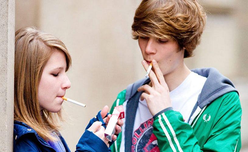 smoke Why do teen