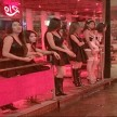 Thailand's red light sex workers are wearing black