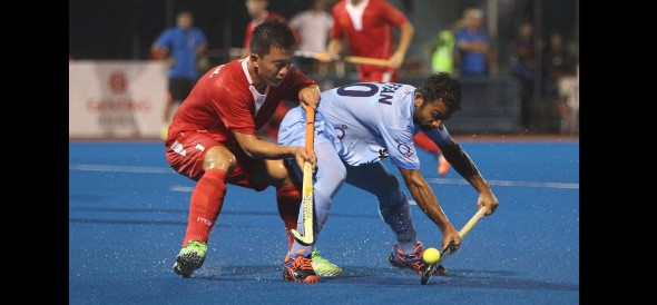 indian Hockey team reached into Semi-final of Asian Champions Trophy 2016