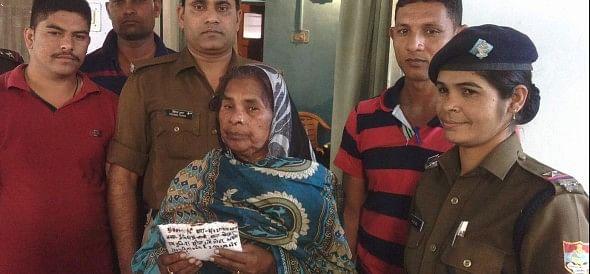 police arrested smack smuggler.
