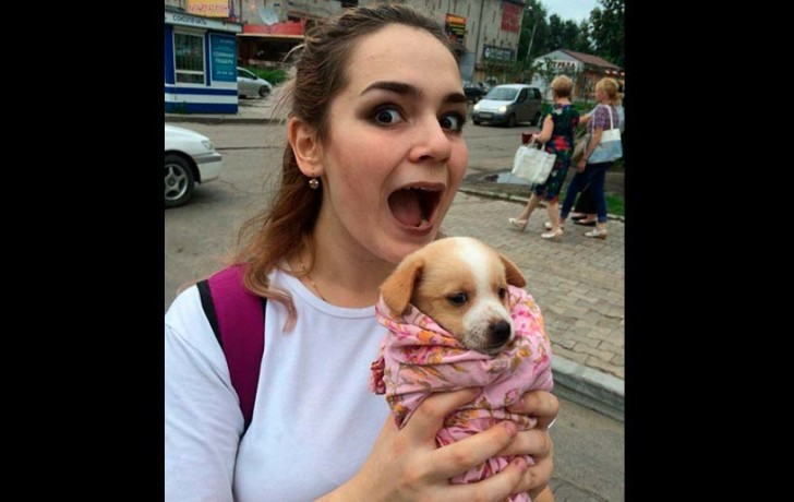 Russian girl arrested for harassing dogs and cats