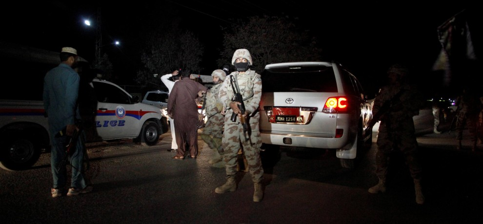 Pakistan: Terrorist attack in police training school