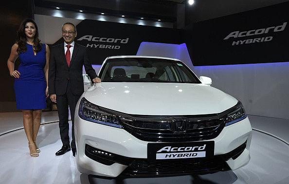 Honda's new Honda Accord Hybrid launched
