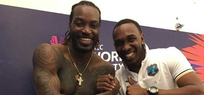 Chris Gayle And Dwayne Bravo Back With New Champion Song to Promote Condom