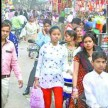 market decorate on Dhanteras