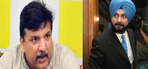 Navjot singh sidhu is likley to be join aap, sanjay singh indecation