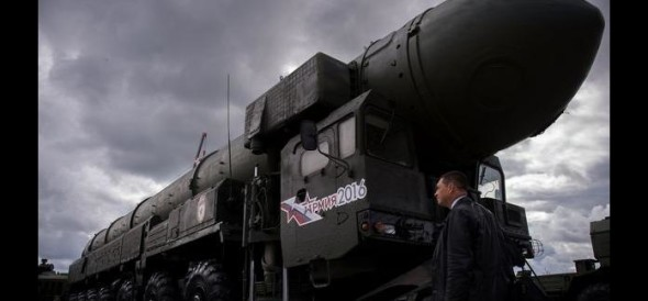 Satan 2: Russia unveils deadly nuclear missile that can wipe out britain and France