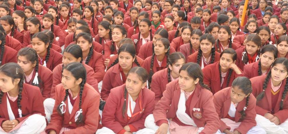 Green and chocolate colour smart dress for boys and girls in himachal govt schools