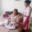 Kidnaped old lady and robbery of 13 lakh in pihowa haryana
