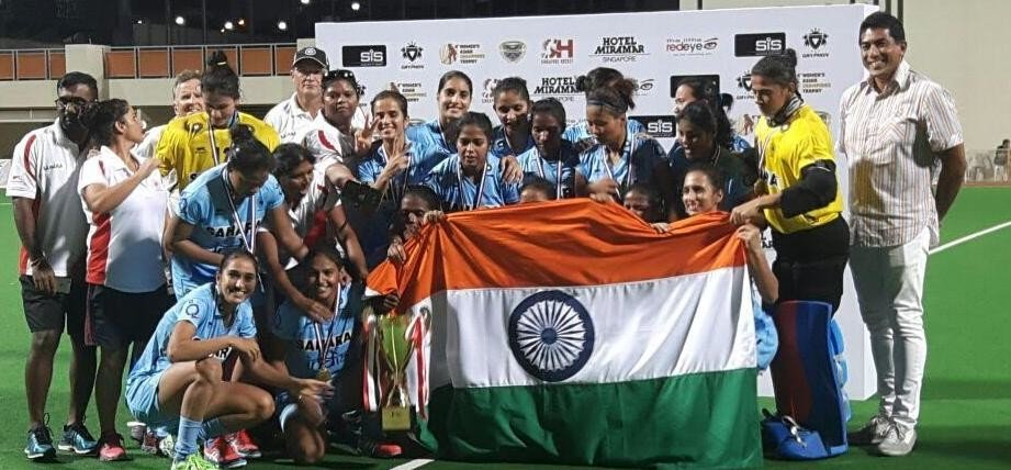 Indian women's hockey team won asian champions trophy hockey title