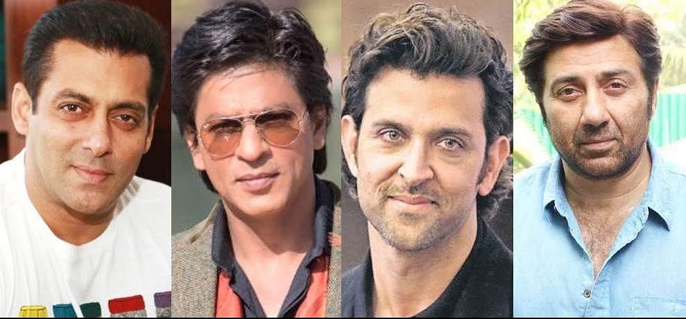 Salman Khan, Shahrukh Khan, Sunny Deol And Hrithik Roshan ...
