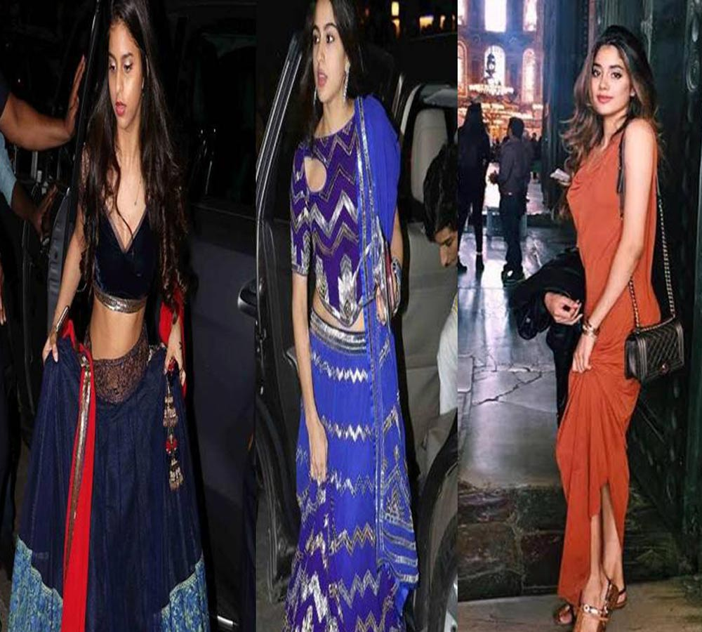 Fashionable daughters of Bollywood stars