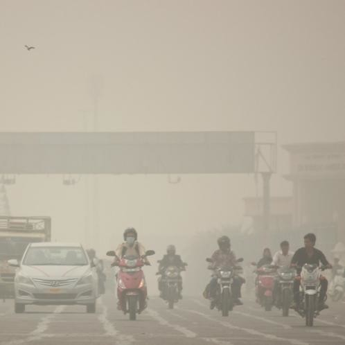 Lucknow's air more polluted than delhi.