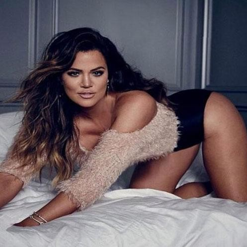 hot photoshoot of khloe kardashian