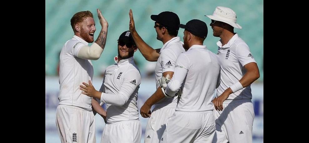 India Vs England 1st Test Rajkot Day 4