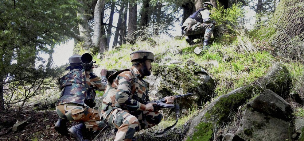 pakistan voilates ceasefire in nowshera LOC sector of jammu and kashmir