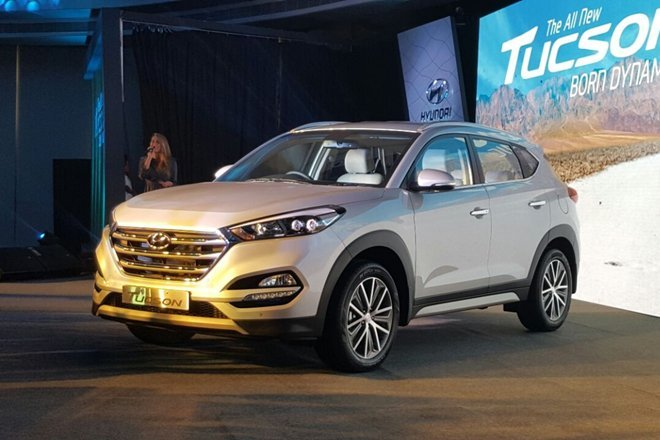 Hundai launches third generation tucson