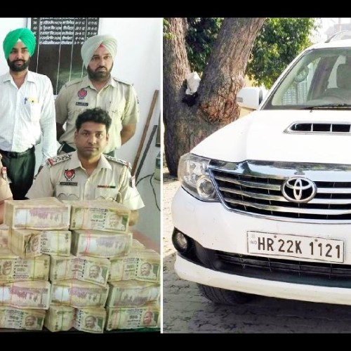 in between note ban, one crore rupee in 500 rupee note found from industrialist jindal son fortuner