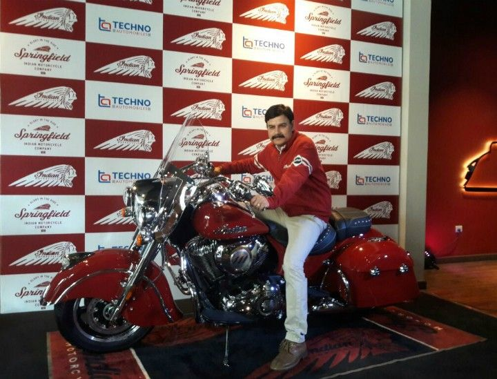 indian springfield bike launch in india