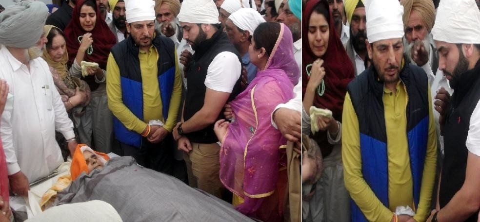 Gurdas Mann's mother's funeral in inconsolable atmosphere, eminent personalities were present