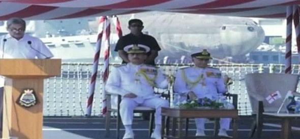 नौसेना के जंगी बेड़े में शामिल हुआ INS चेन्नई