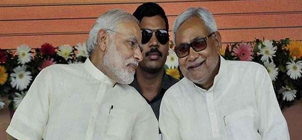 PM modi greets nitish kumar on birthday
