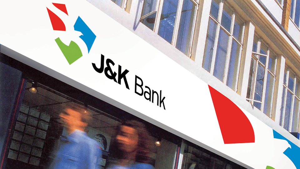 Rs 12 lakhs looted by four men from a J&K bank branch in Budgam