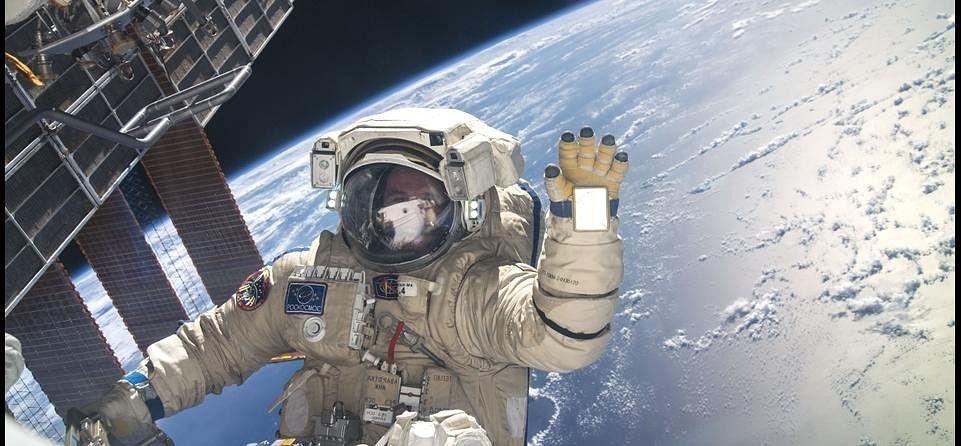 Research on Human Parts in ISS Nasa at Shimla.