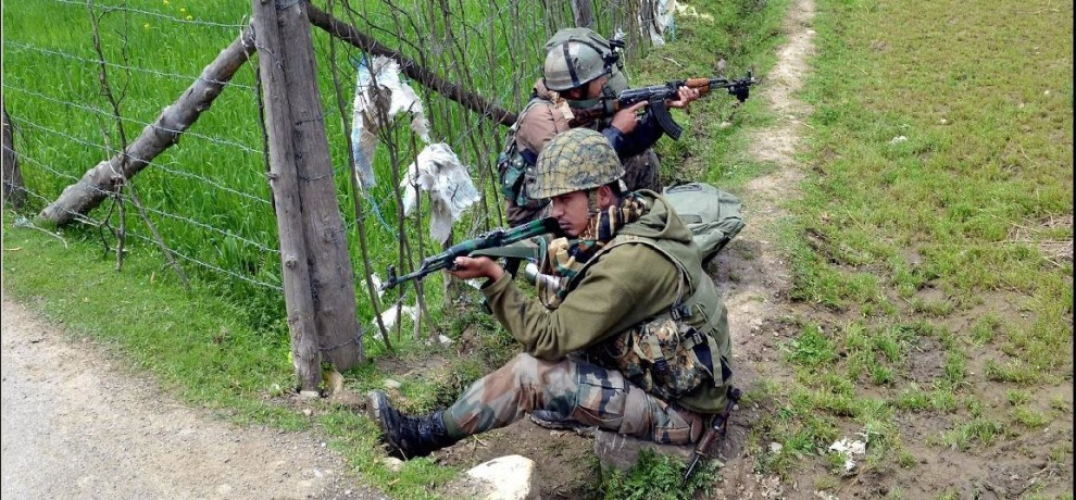a threefold increase in the number of militants killed in Jammu and Kashmir