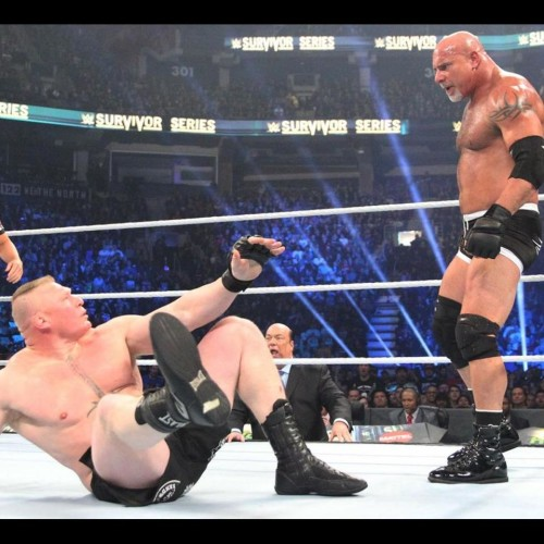 Goldberg Injured Brock Lesnar in His Ribs at Survivor Serie