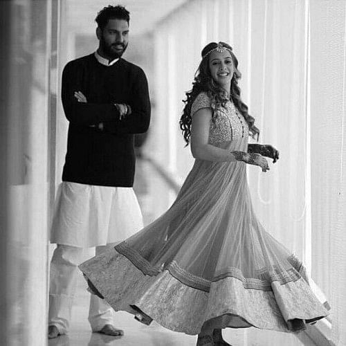 Yuvraj singh hazel keech wedding pictures