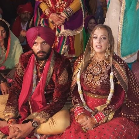 Yuvraj singh and hezel wedding ceremony, pictures