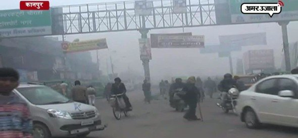 ठंड की दस्तक से कानपुर में कांप उठे लोग