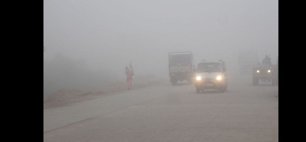 weather news hisar, fog hsiar, hisar