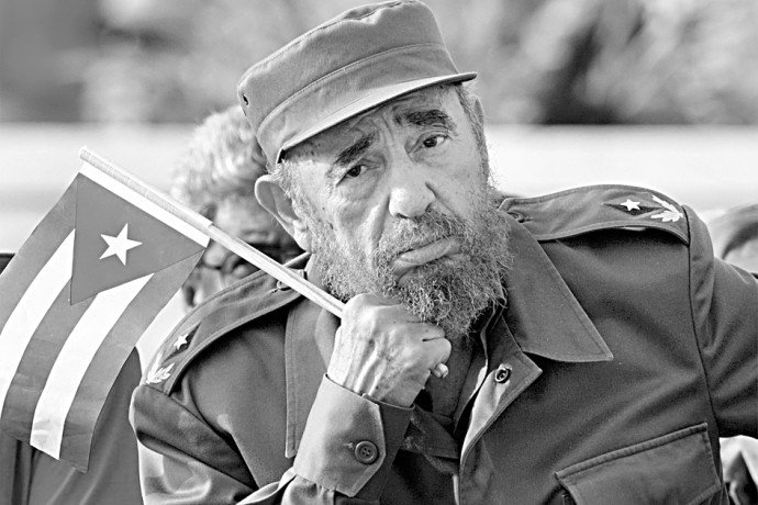 Fidel with many faces