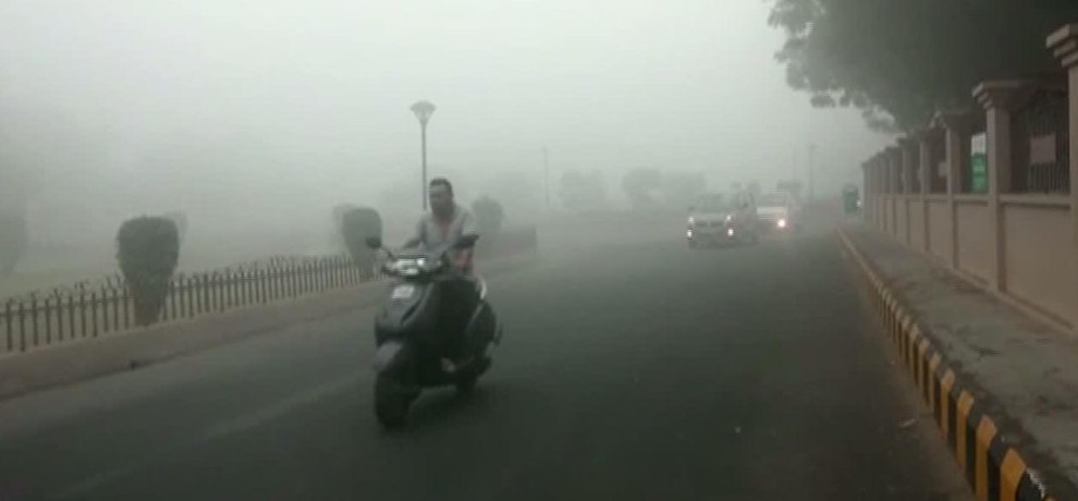 A thick blanket of fog wrapped in Kashi