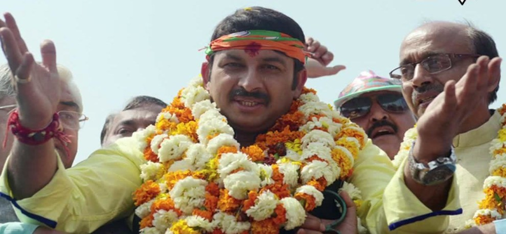 Manoj Tiwari appointed as delhi bjp president