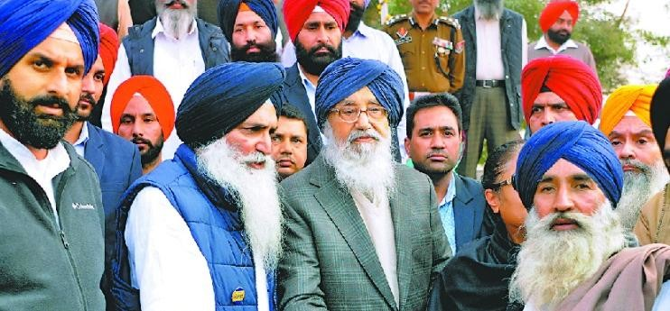 badal, CM badal in amritsar, CM says about SYL, objection on canal, amritsar