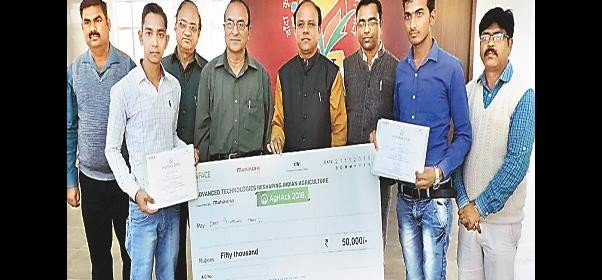 Banda's agricultural student shine in Chandigarh