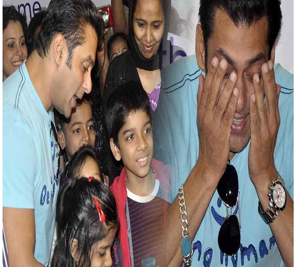 salman khan help to 5 month old pre mature baby