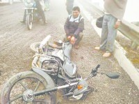 Scotty skidded on gravel, the injured woman, Grunda, Karnal
