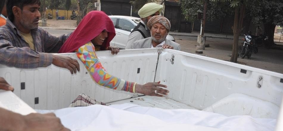 Father son death in mohali, mohali gamada