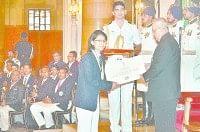haryana, sonipat, ghona, ig award, president