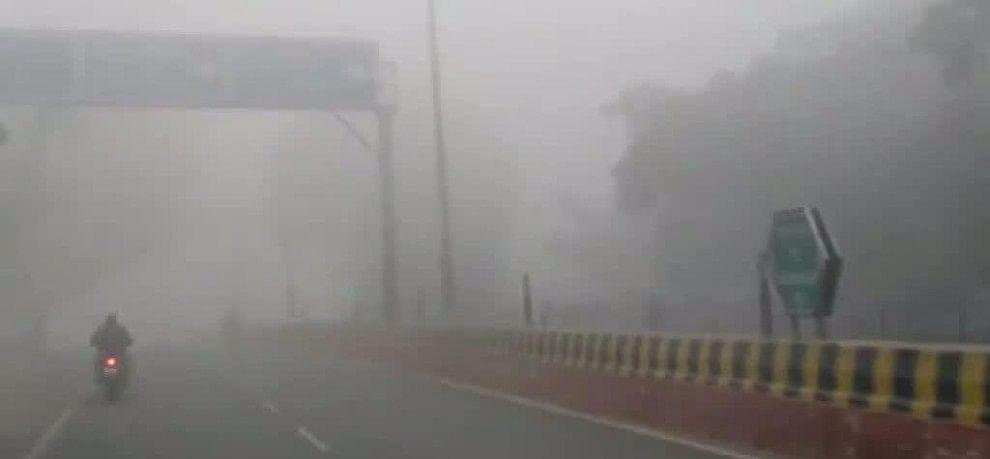 weather news hisar, fog , jhajahr